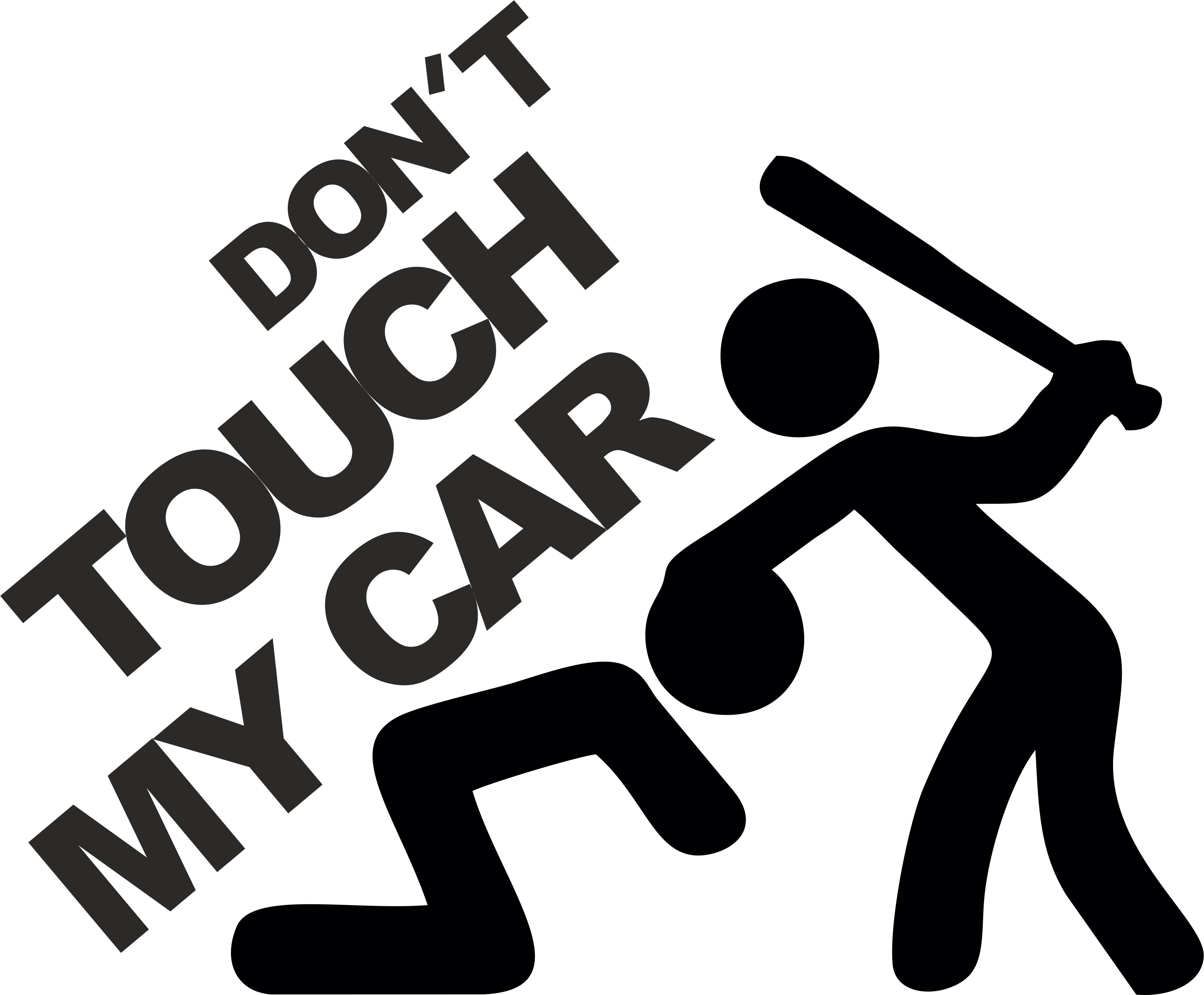 Neliesk mano automobilio lipdukas