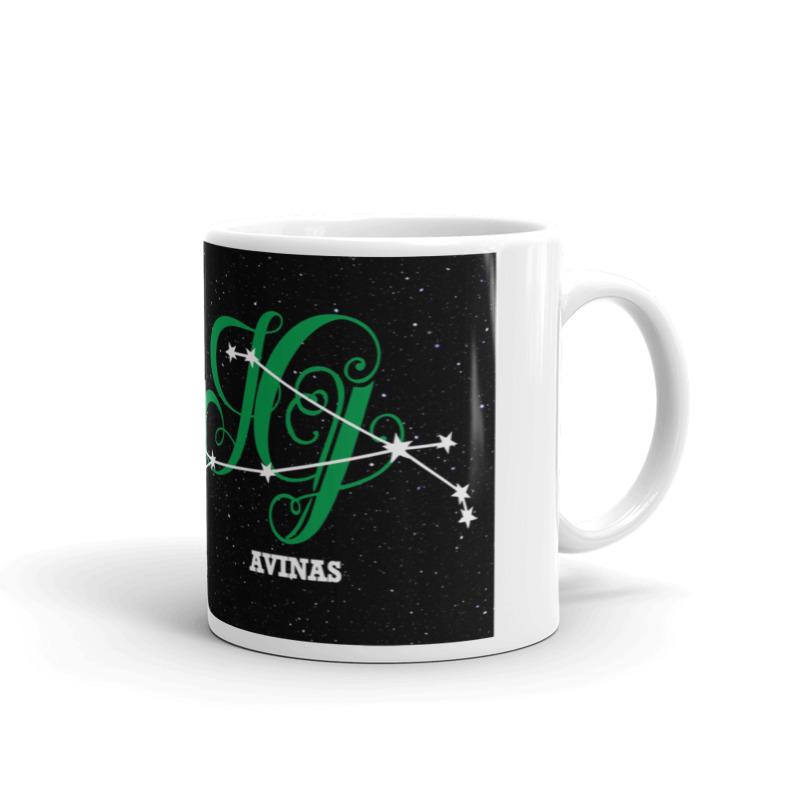 Avino žvaigždynas ant puodelio