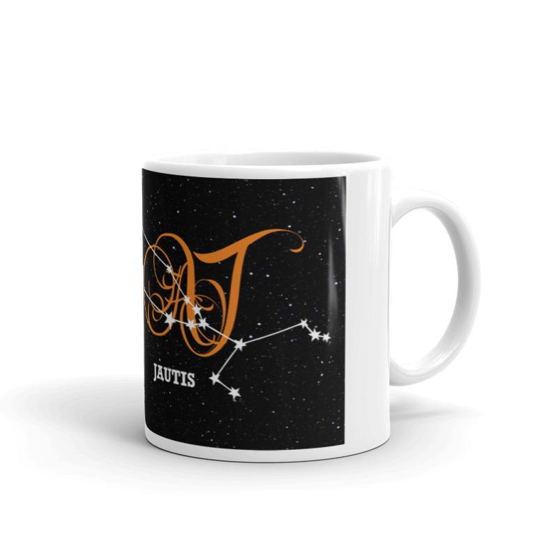 Jaučio žvaigždynas ant puodelio