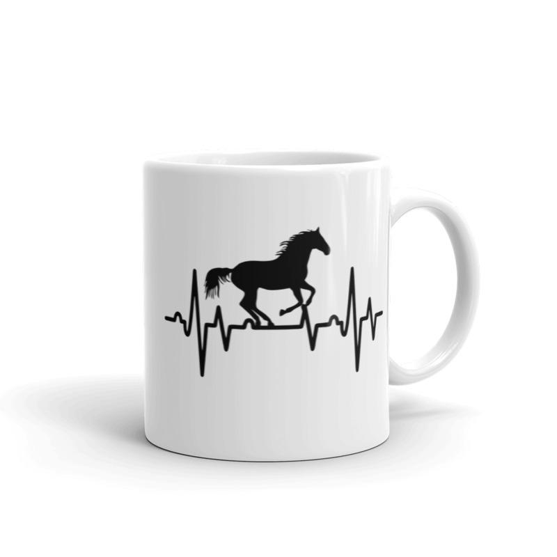 Arklys ant puodelio